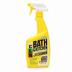 CLR Bath and Kitchen Cleaner...B rating from ewg and green certified