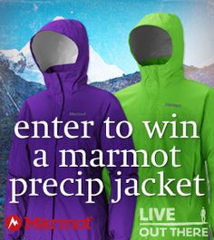 I am in the draw to win Enter to win a Marmot PreCip Jacket! from Live Out There.