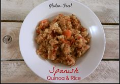 A Busy Mom's Slow Cooker Adventures: Spanish Quinoa and Rice - Gluten-Free