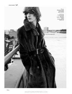 Editorial por Sølve Sundsbø para Vogue Hommes