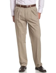 Savane Men`s Pleated Wrinkle Free Twill $29.99 - $49.99