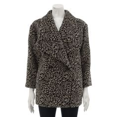 Leopard Print Faux Fur Coat £59.99