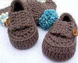 Baby Boy Hat and Modern Bootie Loafers Crocheted - LisaCorinneHandmade @Etsy