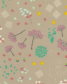 Cotton + Steel - Mochi - Asian Garden - Quilt Fabrics from www.eQuilter.com