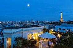 View From Terrasse, Hotel Raphael, Paris