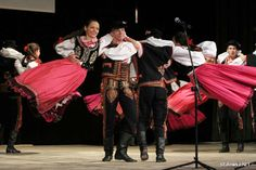 Folk costumes of Lachy Sądeckie, Poland. Ethnic Outfits, Ethnic Clothes, Folk Costume, Costumes, Polish Folk Art, Shall We Dance, Dance The Night Away, Folklore, Traditional Outfits