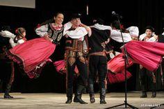 Folk costumes of Lachy Sądeckie, Poland.