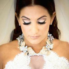 Beautiful #Bride wearing an exclusive @LazaroBridal gown with a custom Neck Piece by #MariaElenaHeadpieces  #LazaroBridal #fashion #bridalfashion #bride #brides #love #beautiful #gettingmarried #weddingplanning #weddingideas #bridalstyle #instabride #inst
