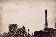 Time and Again Paris Landscape Photography Print by LeighViner