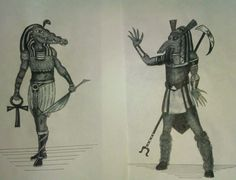 Sobek and Lord Set