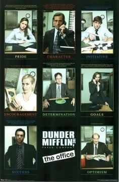the office posters. (22x34) The Office Motivational Grid TV Poster Print By Revolution, Http: Posters A