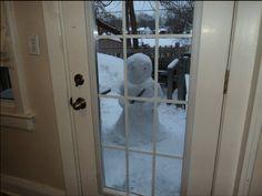 Ominous Snowman