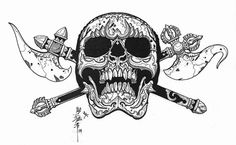 BARDO: Tibetan Skulls by Horimouja