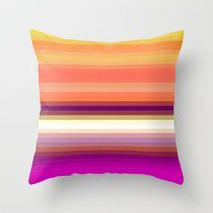 Re-Created Spectrum LVI #Throw #Pillow by #Robert #S. #Lee - $20.00