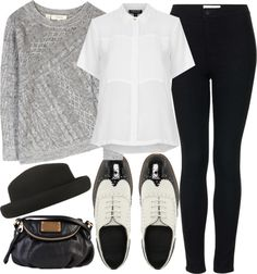 Untitled #3385 by florencia95 featuring topshop