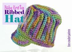 Baby Kristin Hat - crochet pattern