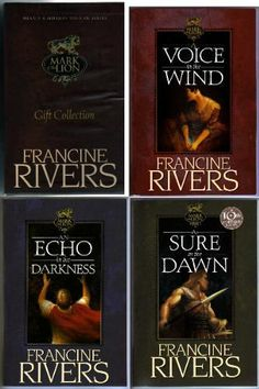 Mark of the Lion series by Francine Rivers-seriously some of my favorite books