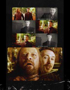 Littlefinger and Ned Stark