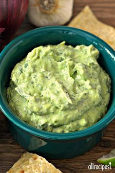 """Avocado-Spinach Dip   """"Everything about this is fantastic. I also recommend a double batch!"""""""