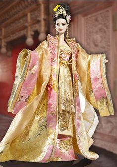 Empress of the Golden Blossom™ Barbie® Doll