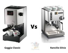 Gaggia Classic vs Rancilio Silvia - Grab the best machine! Small Exercise Bike, Italian Espresso Machine, Best Espresso Machine, Cycling Machine, Home Gym Machine, Maker Labs, Coffee Shot, Cardio Machines