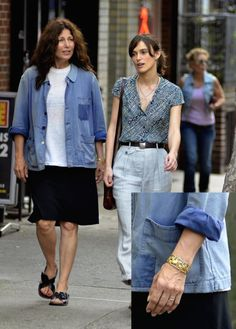 """Gustav Manz elephant bracelet makes appearance in Keira Knightley romance flick """"Begin Again"""" worn by co-star Catherine Keener (Photo ChrisPeterson/Splash) Catherine Keener, Elephant Bracelet, Melt In Your Mouth, Cold Meals, Keira Knightley, Conservation, Celebrity Style, How To Make, How To Wear"""
