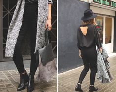 Bloggers @luvinurstyle #black #chelsea #boot