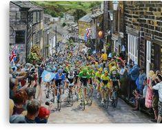 Climb through Haworth Canvas Print