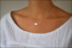 Tiny+Silver+Sideways+Hamsa+Necklace+by+maldemer+on+Etsy,+$28.00