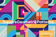 Square Geometric Patterns – Deeezy – Freebies with Extended License