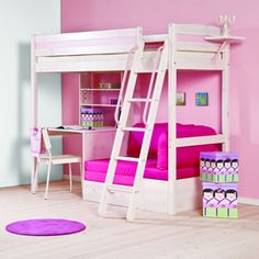 another cool bed. But not in pink more like purple