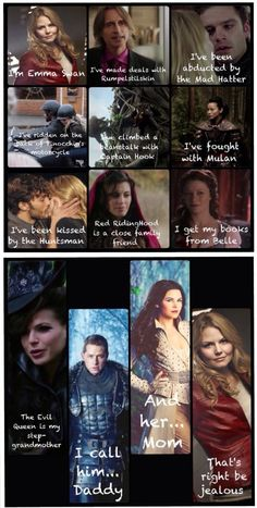 This makes the show sound amazing, when honestly, it's not much different than any other drama. #onceuponatime #ouat