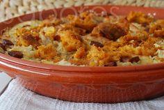 Sabores de Canela: Arroz de forno com frango e alheira