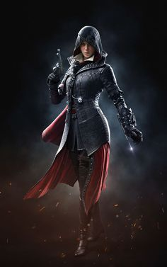 Evie (Black BG) - Characters & Art - Assassin's Creed Syndicate