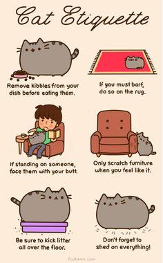 Pusheen the cat :D