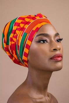 Head Wraps - African Print Head Wrap Source by jamaliem - African Beauty, African Art, African Fashion, African Style, Ankara Fashion, African Prints, African Fabric, Fotografie Portraits, Arte Black
