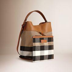 상품이미지3 Bucket Bag, Burberry, Pouch, Tutorials, Handbags, Patterns, Makeup, Decor, Fashion