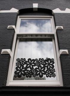 Window sticker Blossom XL from Studio Haikje #raamstickers #design window decals #window films