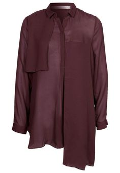 Tiger of Sweden KINSEY pusero viinin punainen - burgundy blouse