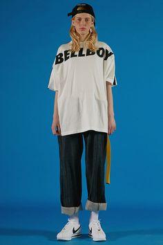 ADERerror lookbook styling bellboy t-shirt