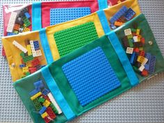 34 Gift Ideas for People Who Travel Fantastic Lego travel kit idea! There is no tutorial but it looks easy enough...