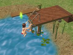 Mod The Sims - Tutorial: The Swimmable Lake Illusion