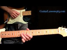All Along The Watchtower Guitar Lesson Pt.3 - Jimi Hendrix - Solos Two & Three - YouTube