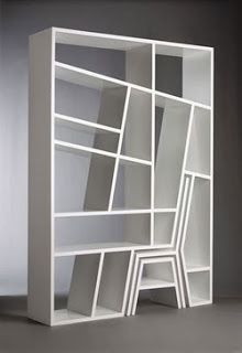 """Amazing bookcase with fitted chair and table! """"Shelflife"""" bookshelf"""