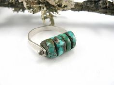 Pinned Turquoise Ring
