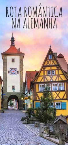 Conheça a Rota Romântica na Alemanha, um dos caminhos mais bonitos da Europa. Places To Travel, Travel Destinations, Travel Tips, Places To Visit, North Rhine Westphalia, Travel Through Europe, Eurotrip, Romantic Travel, Munich