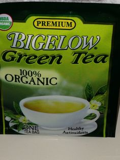Looking to ween off coffee? Try Green Tea, loaded with Anti-Oxidants!