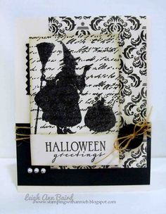 Paper Chase: Halloween Greetings