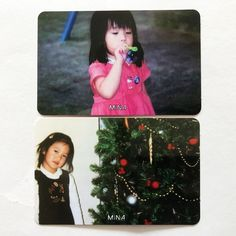 Twice 1st Mini Album The Story Begins Kids Official Photocard Mi Na Set