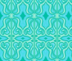 Sea Dream fabric by majoranthegeek on Spoonflower - custom fabric